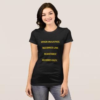 Widerstand-T - Shirt