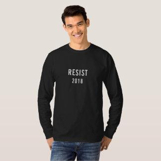 Widerstehen Sie 2018 T-Shirt