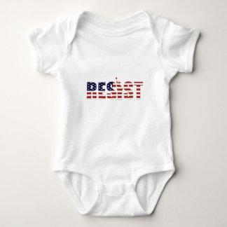 Widerstehen Sie Anti-Trumpf Widerstand-Freiheit Baby Strampler