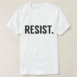 Widerstehen Sie. AntiTrumpf T-Shirt