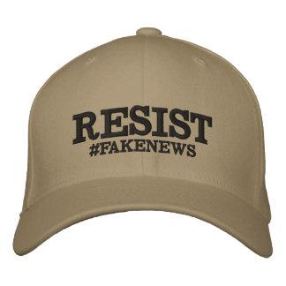 Widerstehen Sie #Fakenews Ausdehnungs-Hut Bestickte Kappe