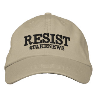 Widerstehen Sie #Fakenews Hut