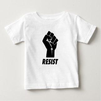 widerstehen Sie Faust Baby T-shirt