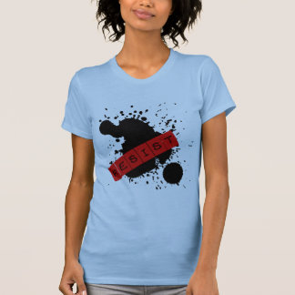 WIDERSTEHEN Sie rebellischem Entwurf T-Shirt