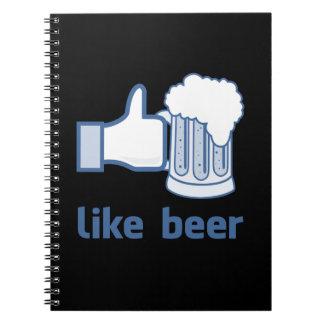 Wie Bier Spiralblock
