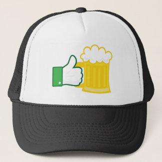 Wie Bier Truckerkappe