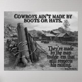 Wie Cowboys gemacht werden Poster