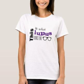 Wie dieses ist, was Lupus aussieht T-Shirt