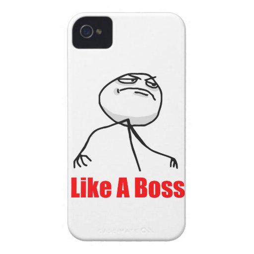 Wie ein Chef iPhone 4 Meme Fall iPhone 4 Case-Mate Hülle