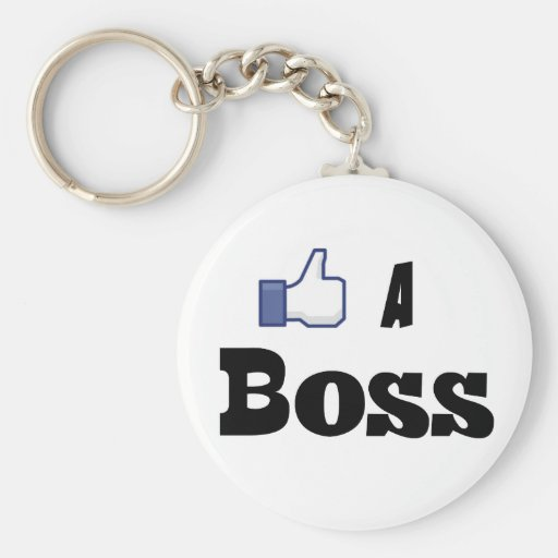 Wie ein Chef Schlüsselanhänger