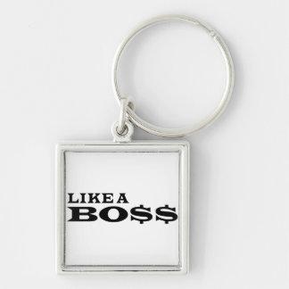 Wie ein Chef Schlüsselband