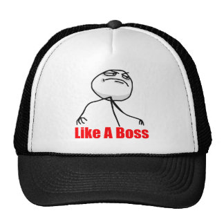 Wie ein Chef Truckercap