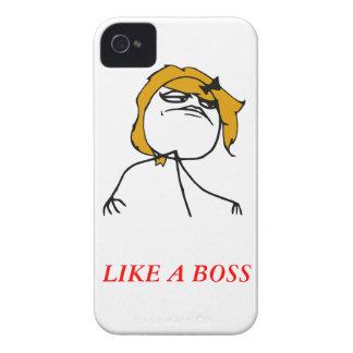 Wie ein Chefmädchen iPhone 4 Meme Fall iPhone 4 Etuis