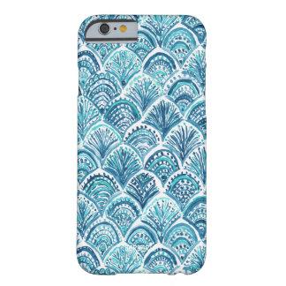 WIE ein MEERJUNGFRAU Seefisch-Skala-Muster Barely There iPhone 6 Hülle