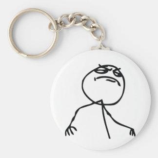 Wie eine Chef-Schleppangel Schlüsselanhänger