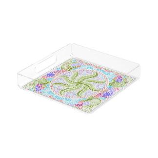 Wie Frühling blüht, Kawaii, Frühling, Blumen Acryl Tablett
