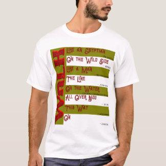 Wie gehen Sie heute? Der T - Shirt der Männer