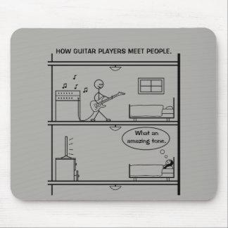 Wie Gitarristen Leute treffen Mousepads