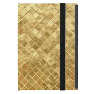 wie Gold Muster iPad Mini Hülle