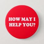 Wie ich kann, helfen Sie Ihnen zu knöpfen Runder Button 7,6 Cm