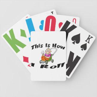 Wie ich Kinderwagen rolle Bicycle Spielkarten