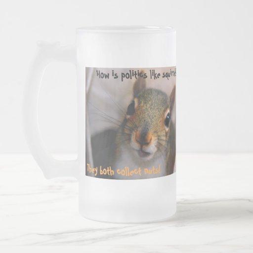 Wie ist Politik wie Eichhörnchen? ,… Teetassen