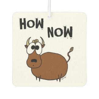 Wie jetzt Brown-Kuh-Lufterfrischer Autolufterfrischer