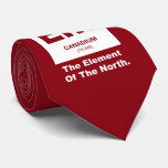 Wie? Kanadisches Element von Kanada Personalisierte Krawatten