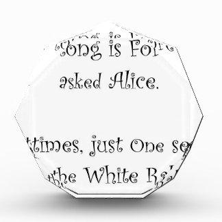 Wie lang für immer Alice ist Auszeichnung
