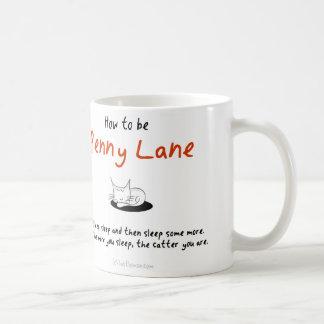 Wie man eine Katze ist: Penny-Weg Kaffeetasse