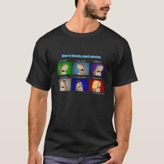 Wie man Haifische - schwarzen T - Shirt