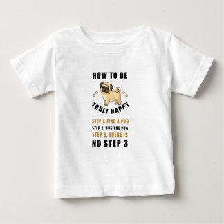 wie man wirklich glückliche Schrittentdeckung ist Baby T-shirt