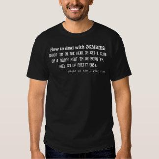 Wie man ZOMBIES beschäftigt Tshirts