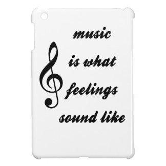 Wie Musik ist, was Gefühle klingen iPad Mini Hülle
