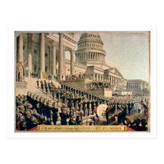 Wie sie aussahen, teilnehmend an der Einweihung Postkarte