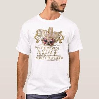 Wie Sie es Bühne-Zitat mögen (Goldversion) T-Shirt