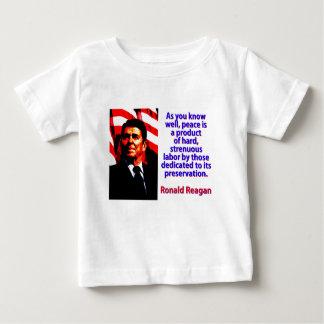 Wie Sie gut wissen - Ronald Reagan Baby T-shirt