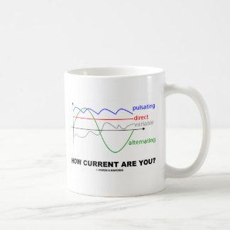 Wie sind Strom Sie? (Verschiedene Strom-Physik) Kaffeetasse