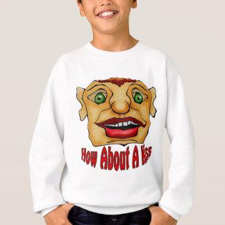 Wie über einen Kuss Sweatshirt