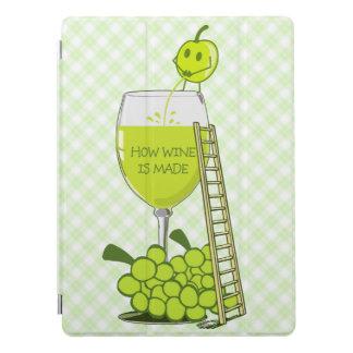 Wie Wein lustige Illustration gemacht wird iPad Pro Hülle