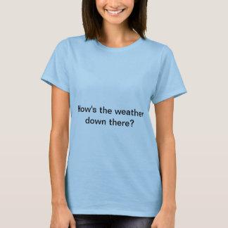 Wie Wetter ist T-Shirt