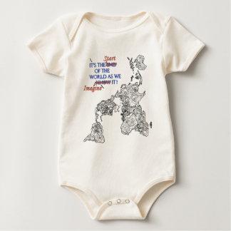 Wie wir es uns vorstellen baby strampler