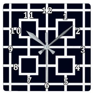 Wie Zeit durch SPNL S8-E13 geht Quadratische Wanduhr