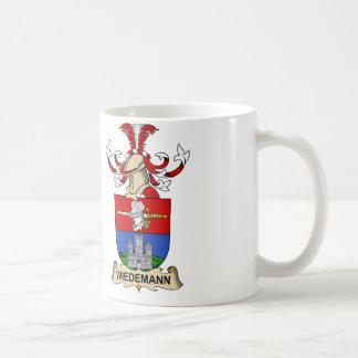 Wiedemann Familienwappen Kaffeetasse