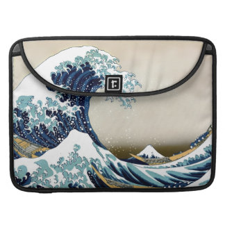 Wieder hergestellte große Welle weg von Kanagawa Sleeve Für MacBook Pro