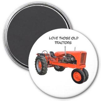 Wieder hergestellter Vintager Traktor Magnets