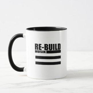 Wiederaufbauen-Sportlogo-Tasse Tasse