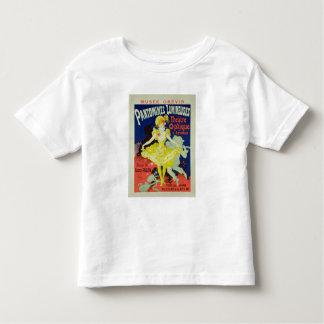 Wiedergabe einer Plakat-Werbung 'Pantomimes L Shirts