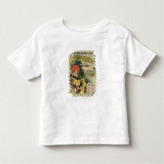 Wiedergabe einer Plakatwerbung 'Auvergne Hemden