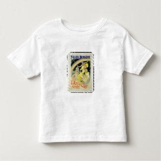 Wiedergabe einer Plakatwerbung 'das Rainbow T-Shirts